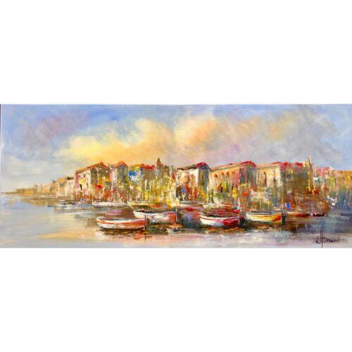 Henry Brand schilderij 'Harbour'