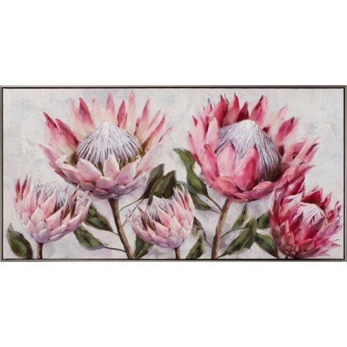 Schilderij 'Pretty Protea'