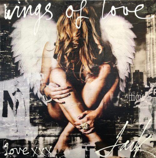 Jack Liemburg schilderij 'Wings of Love'