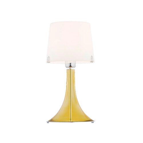Loranto glazen lamp 'Gold'