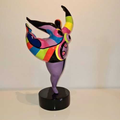 Mia Coppola Dancing Ballerina 'Purple' Large