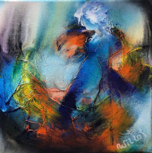 """Wil Lof schilderij """"Elyza I'"""
