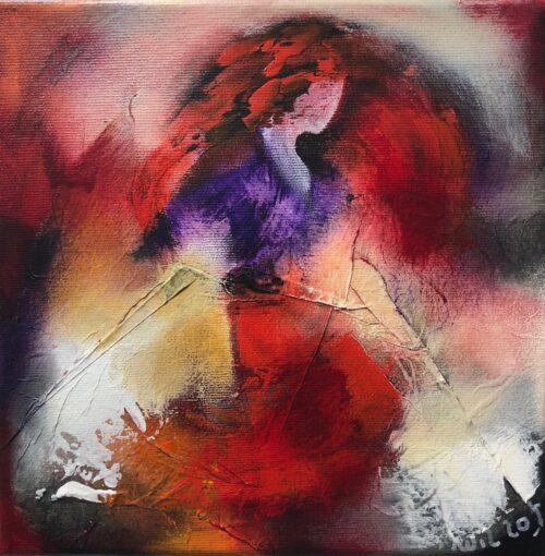 "Wil Lof schilderij ""Elyza II'"