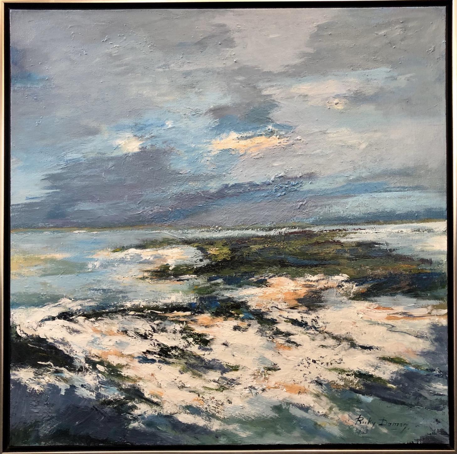 Ricky Damen schilderij 'Waterlandschap'
