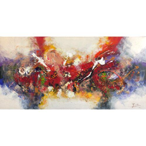 Twan van der Ven schilderij 'Abstract III'