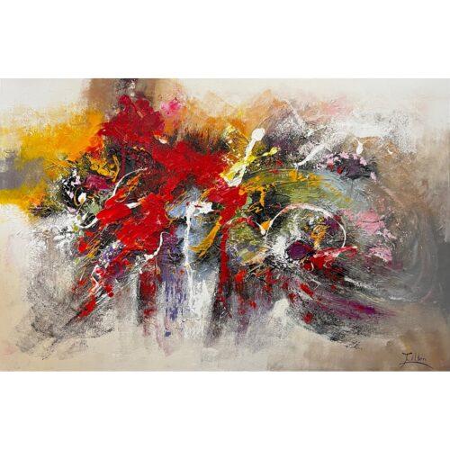 Twan van der Ven schilderij 'Abstract IV'